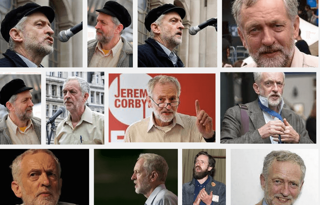 Corbyn collage