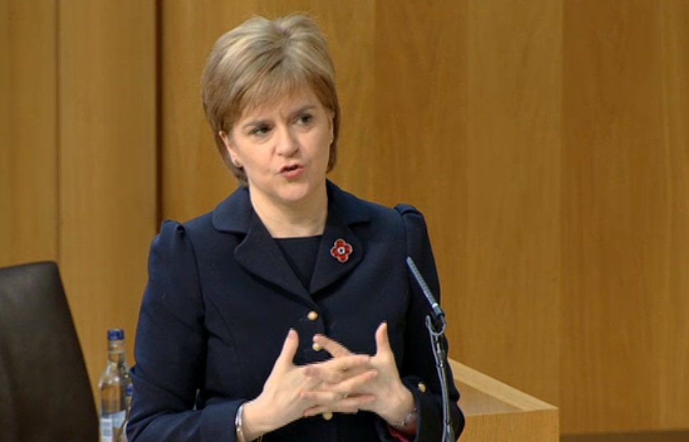 Nicola Sturgeon at BIPC2015
