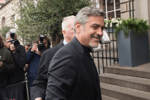 George Clooney Tiger Lily