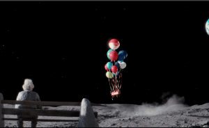 man on moon john lewis video