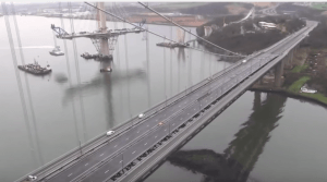 Forth Road Bridge vid