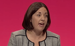 Dugdale speaking