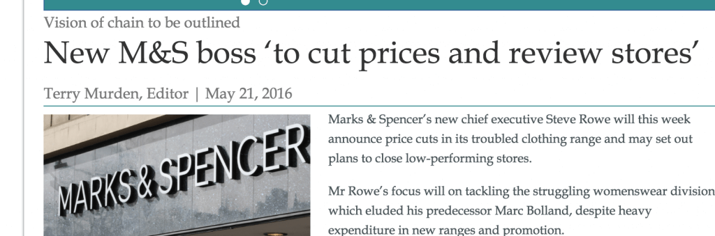 Daily Business reported at the weekend that the stores would be reviewed