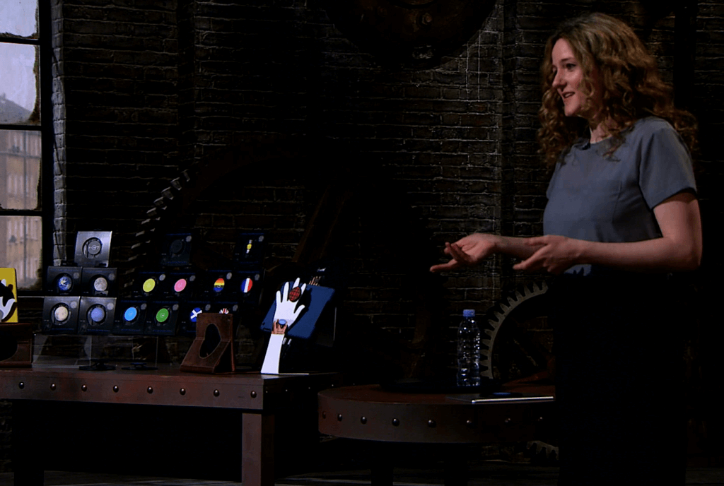 Alison Grieve in the Dragons Den