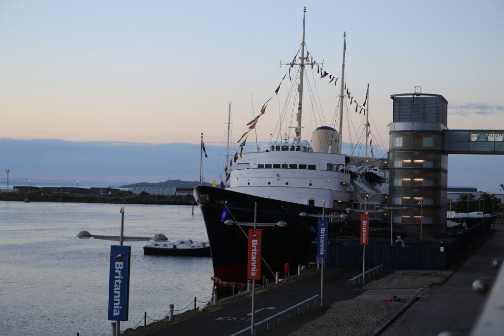 Royal Yacht: campaign (photo by Terry Murden)