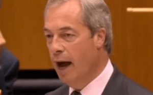 Farage: stepped down