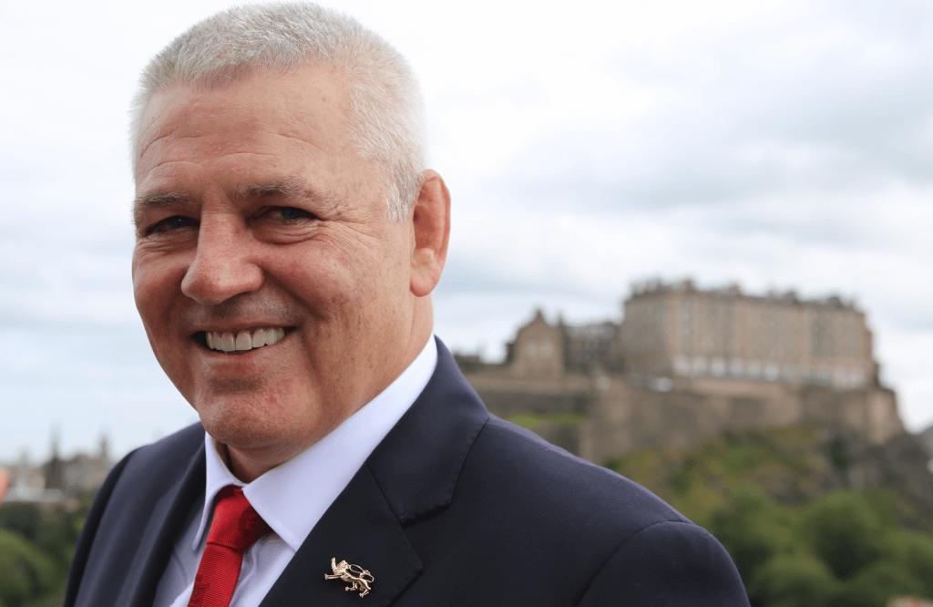 Gatland: excited (Photo by Terry Murden)