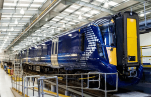 First of new ScotRail trains (contributed)
