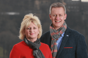 Christine Esson and Russell Dalgleish