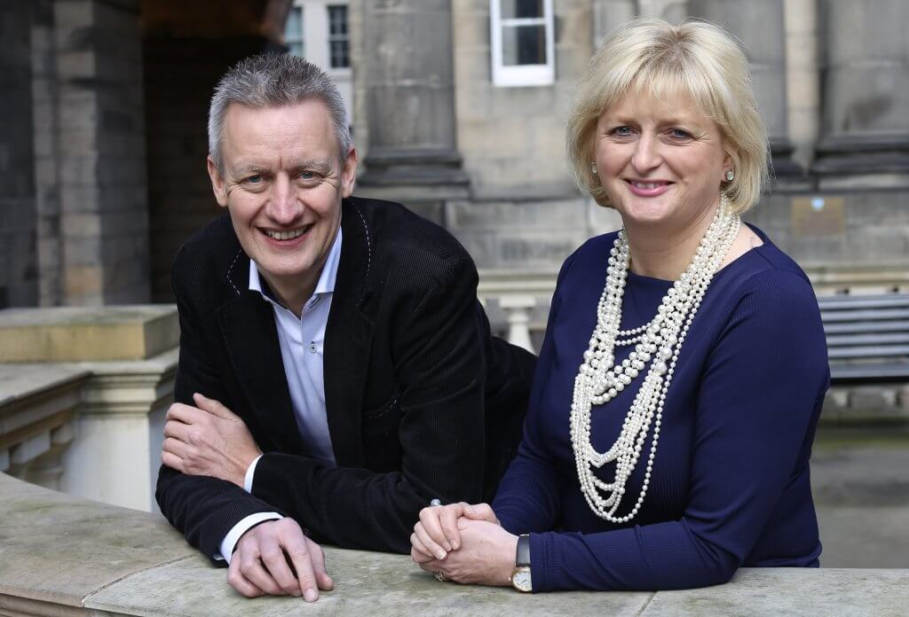 Russell Dalgleish and Christine Esson