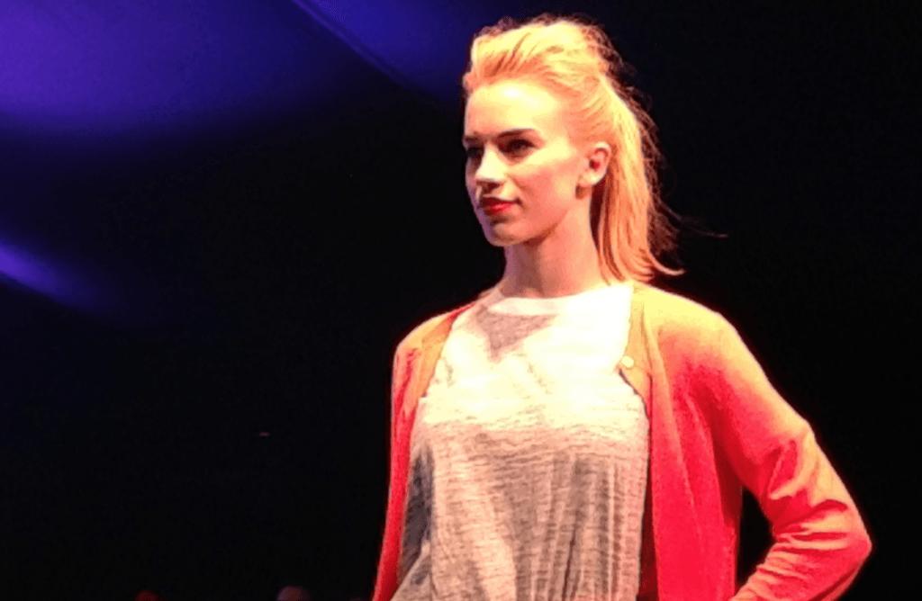 Lorna Brown fash model