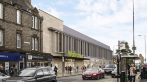 Waitrose Edinburgh store plan