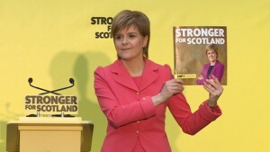 Nicola Sturgeon manifesto