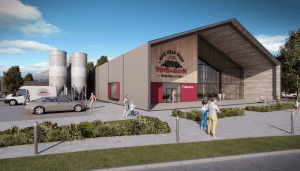 The now-shelved new build brewery plan