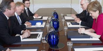 Cameron meets Sturgeon 2