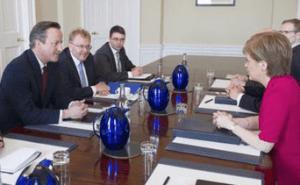 Cameron meets Sturgeon