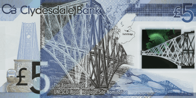 Clydesdale £5 note