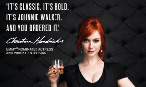 Johnnie Walker Christina