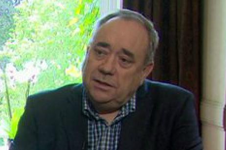 Alex Salmond on Marr