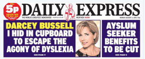 Daily Express typo