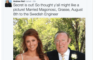 Andrew Neil marriage
