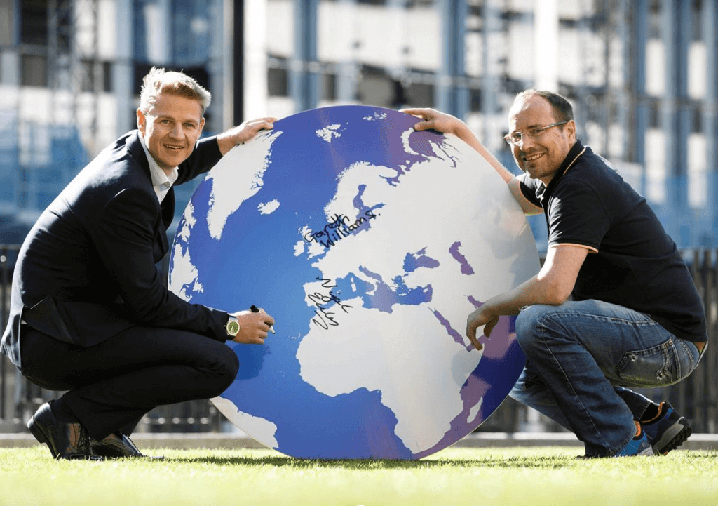 Nigel Eccles and Gareth Williams
