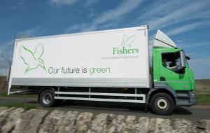 Fishers van