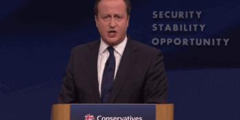David Cameron annual conf