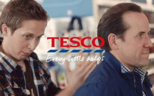 Tesco advertising