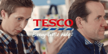 Tesco advertising