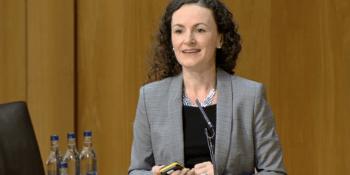 Lesley Eccles at parliament