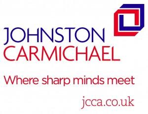 In copy branding Johnston Carmichael