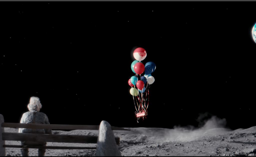 man on moon john lewis video