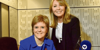 Sturgeon and Kirsty young