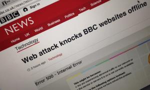 BBC website offlin