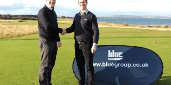 Blue golf