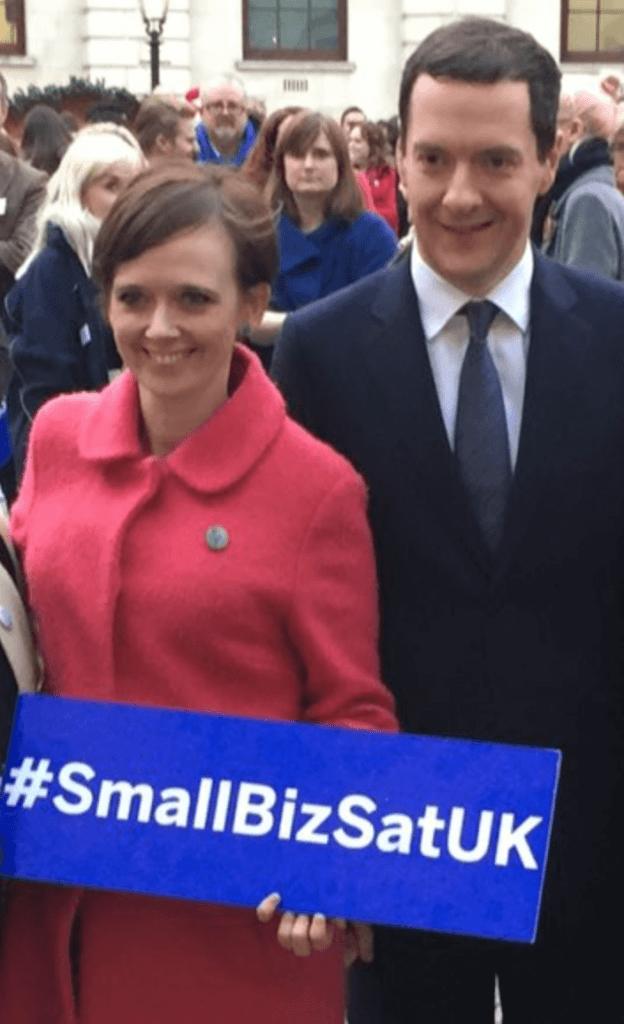 Rebecca and George Osborne