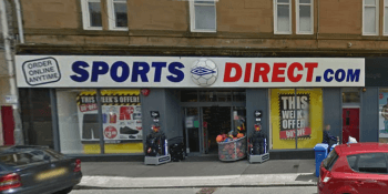 Sports Direct google maps Kirkcaldy
