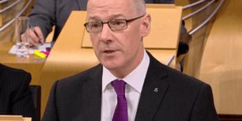 John Swinney delivers Budget