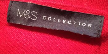 M&S label
