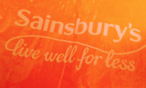 Sainsbury's bag