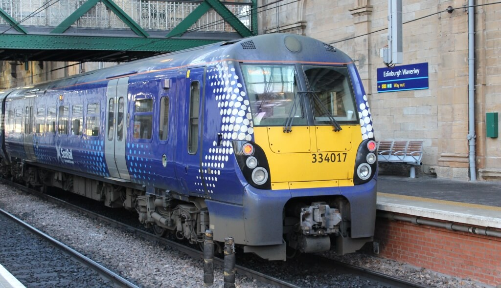 ScotRail train Waverley