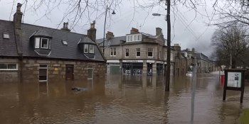 Ballater flood youtube