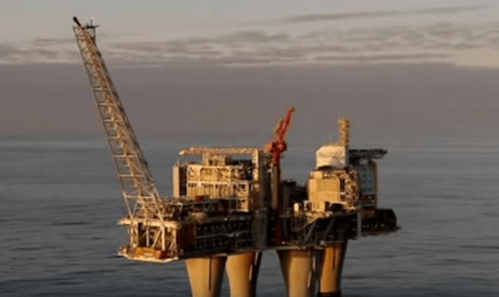Oil rig vid
