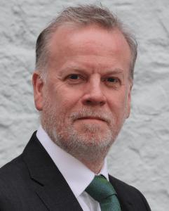 Terry portrait with tie