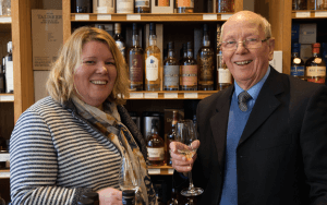 Tom Young and Karen Somerville