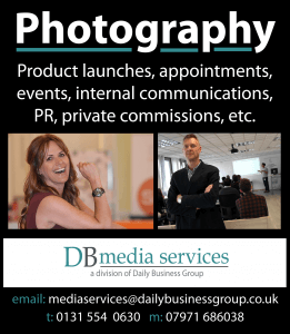 DB Photography advert 2