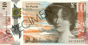 RBS £10 note