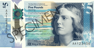 RBS £5 note
