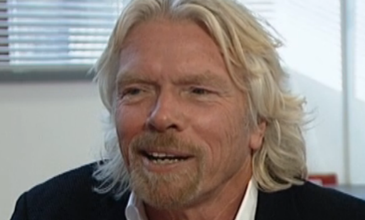 Sir Richard Branson BBC vid